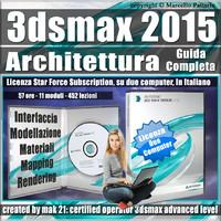 3ds max 2015 Architettura Guida Completa Subscription 2 Computer