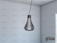 3d hanging light model
