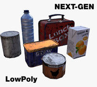 3d model of gen food