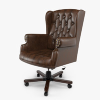 Armchair Swivel Brown