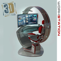 3d work workstation