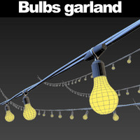 Bulbs garland