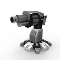 Sci-fi Grenade Launcher