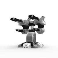 sci-fi laser 3d 3ds