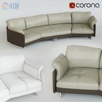 sofa swing 3d model