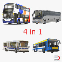 3d buses 2 bus model