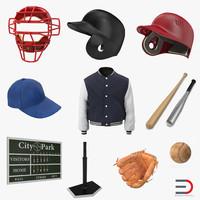 3d baseball 6 model
