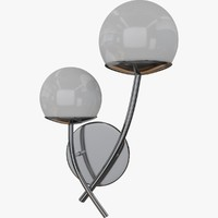 wall lamp sconce 3d obj