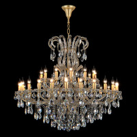 Chandelier 775373 (MD18083-24+12+1) Champa Osgona by Lightstar