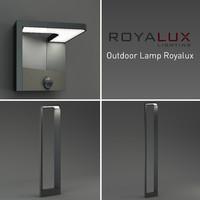 outdoor lighting lamp royalux 3d model