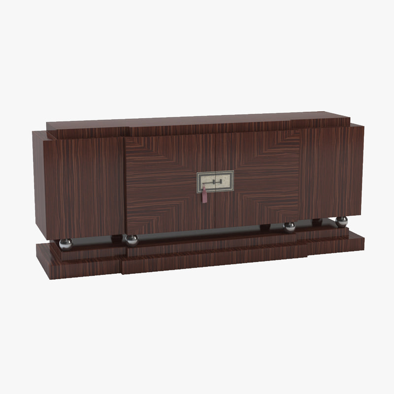 3d model empirelong sideboard for Sideboard 3d