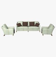 duresta chair sofa 3d obj
