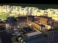 3d model of big sity chateau