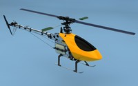 helicopter internal combustion c4d