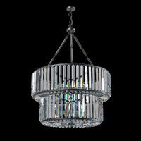 Eichholtz infinity double Glass Ceiling Lamp