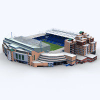 stamford bridge stadium 3d 3ds