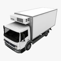 3ds mercedes-benz atego truck