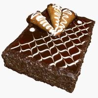 cake 1 - caramel 3d max