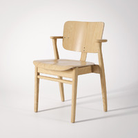 3d artek domus chair model