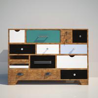 chest kare 3d model