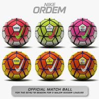 Nike Ordem 3 - Three Major Soccer Leagues