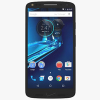 motorola droid turbo 2 3d model