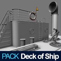 Deck of Ship