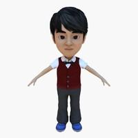 human man 3d model