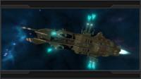 3d amur class cruiser model