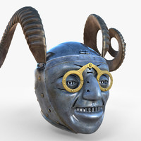 horned helmet 3d model