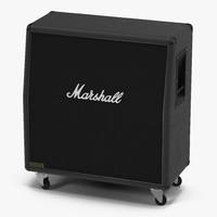 guitar speaker cabinet marshall 3d max