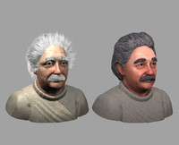 3d head hair model