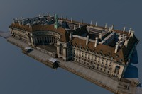 3d county hall london