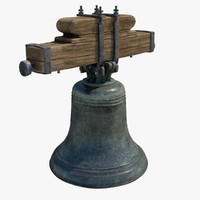 church bell 3d obj