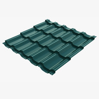 metal roofing barsa 3d model