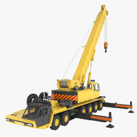 industrial crane 3D models
