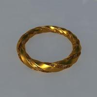 obj gold bracelet