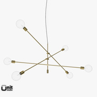Mobile Chandelier Grand pendant light by West Elm