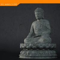 3d buddha stone