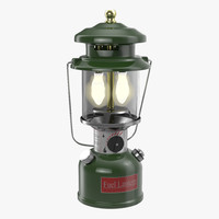 3d model camping lantern