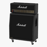 3d guitar amplifier marshall model