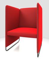 3d model armchair pedrali zippo