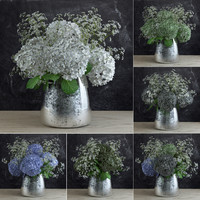 3d gypsophila bouquet model