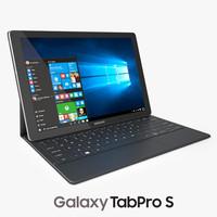 samsung galaxy tabpro s 3d max