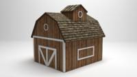 farm blender 3d model