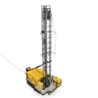 3d drilling rig blasthole