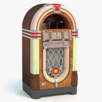 3d model old jukebox