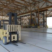 3d model environment maintenance station