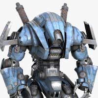 robot warrior max
