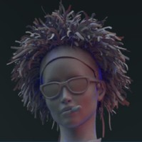 3d zbrush female character
